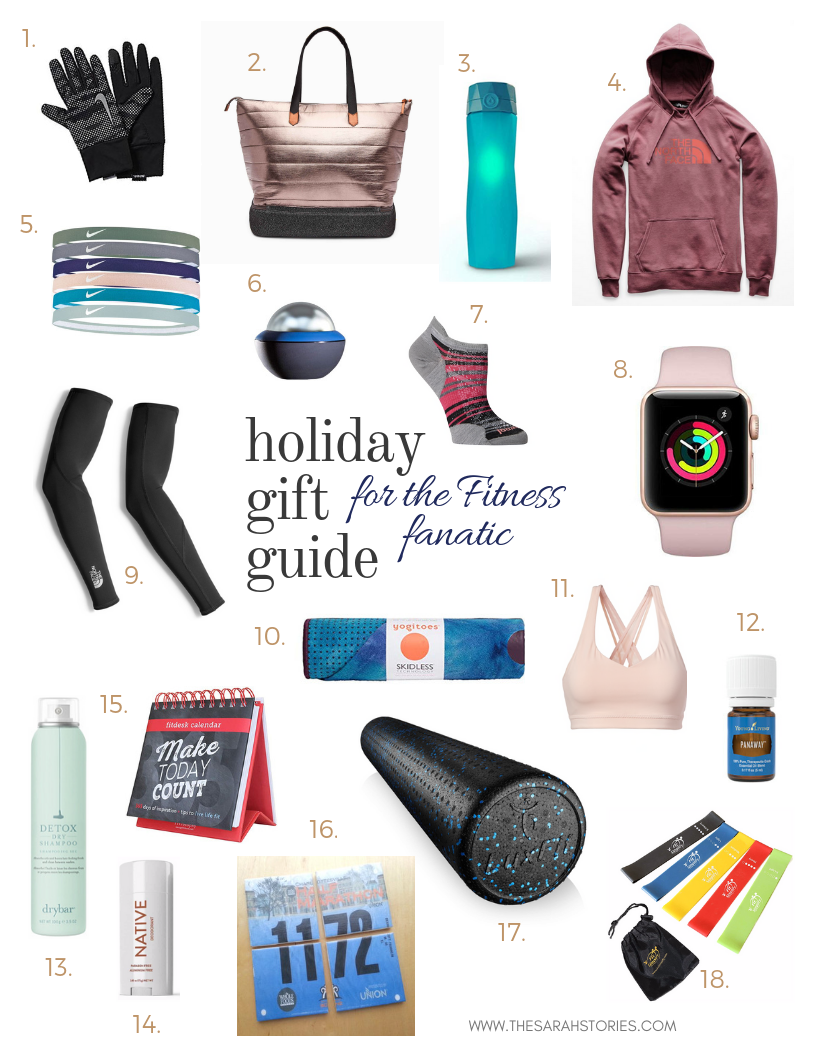 Holiday gift guide for the Fitness fanatic