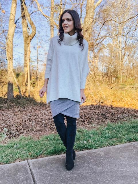 Leith dress, winter