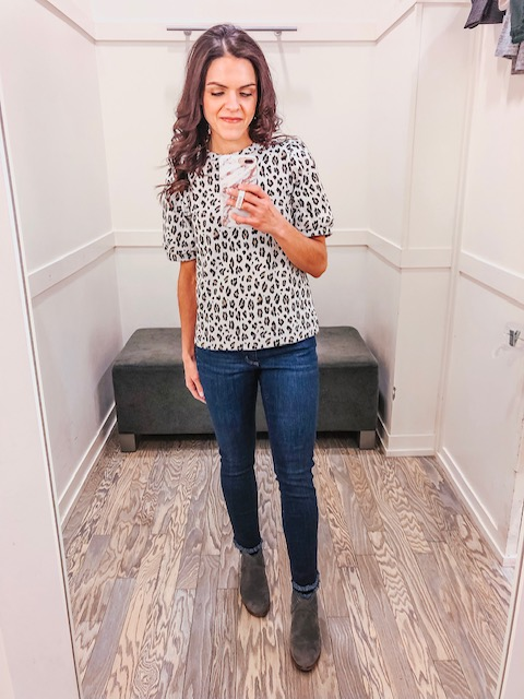 Loft & AE Spring try on