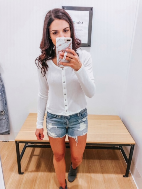 February American Eagle Try on - 5