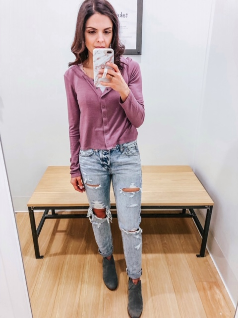 February American Eagle Try on - 6