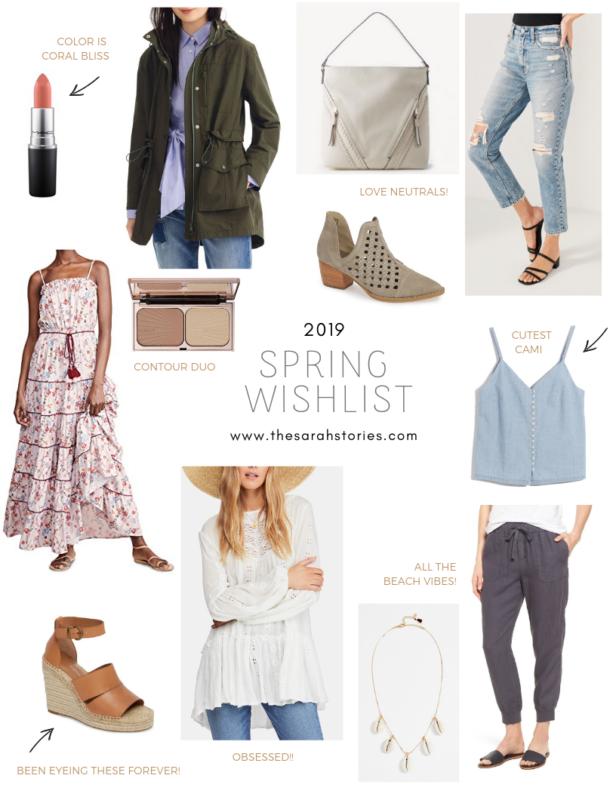 Spring 2019 Wishlist