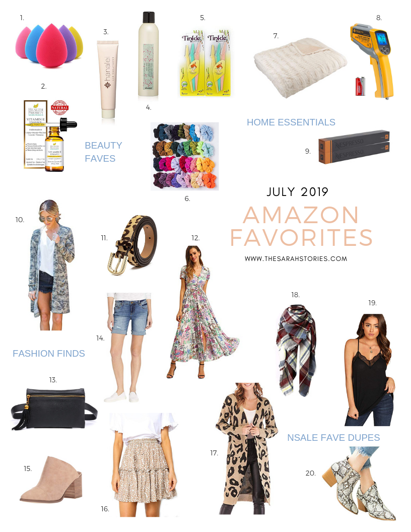 2019 July Amazon favorites