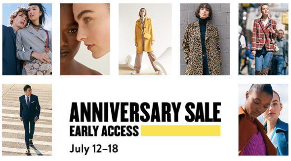 Anniversary Sale Early Access