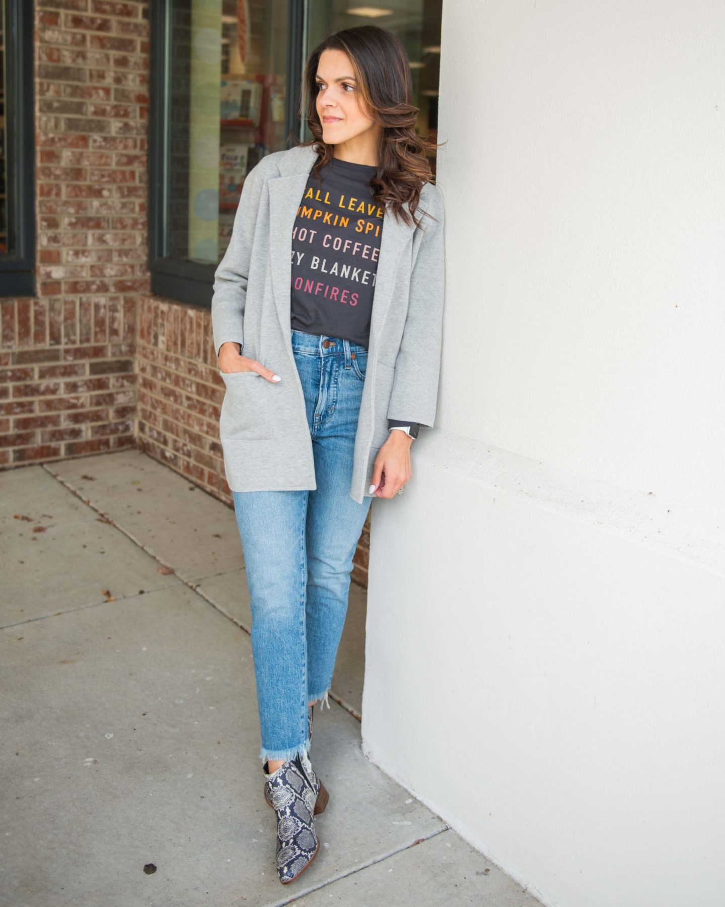 Four ways to style a graphic tee