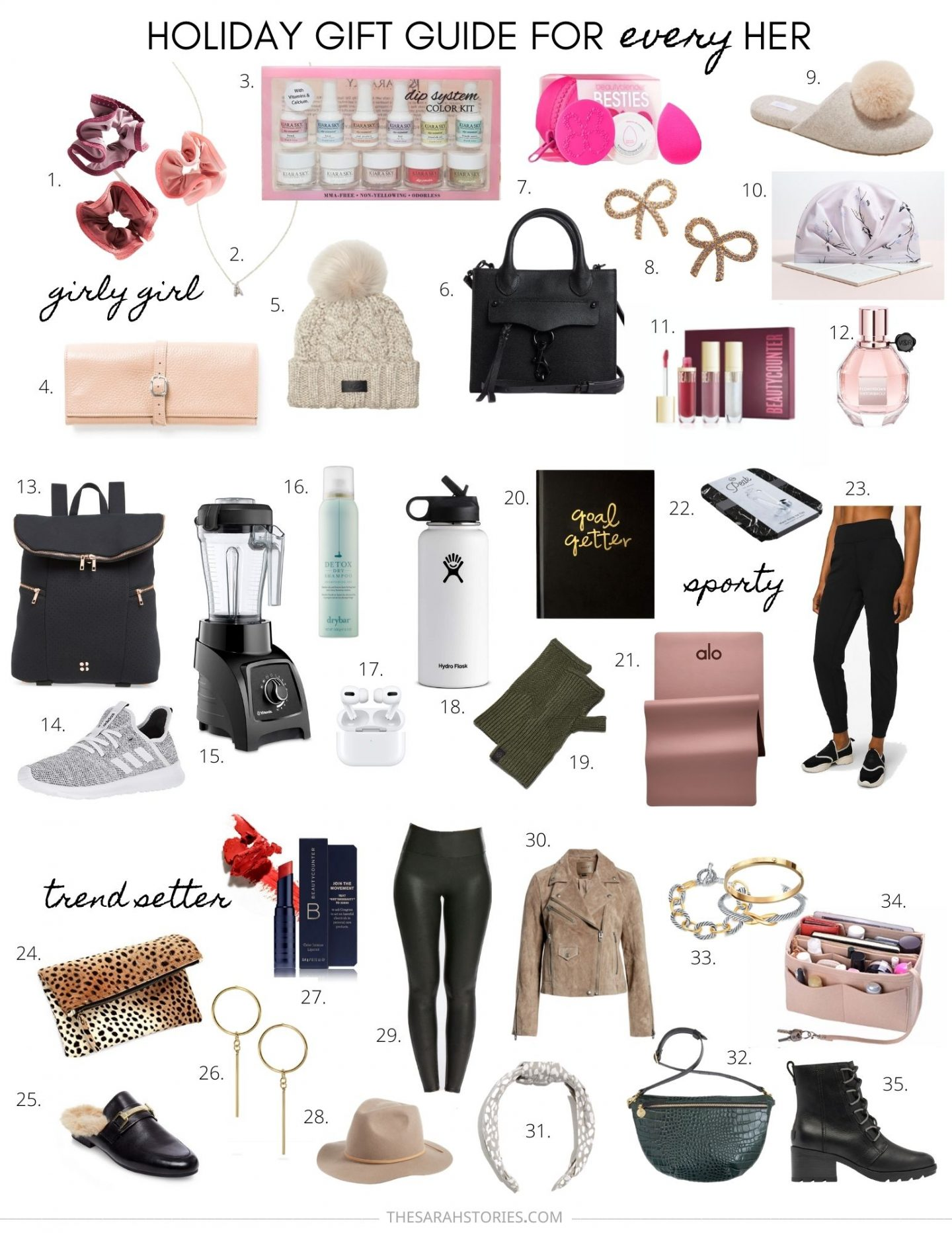 Gift Guide for every kind of HER
