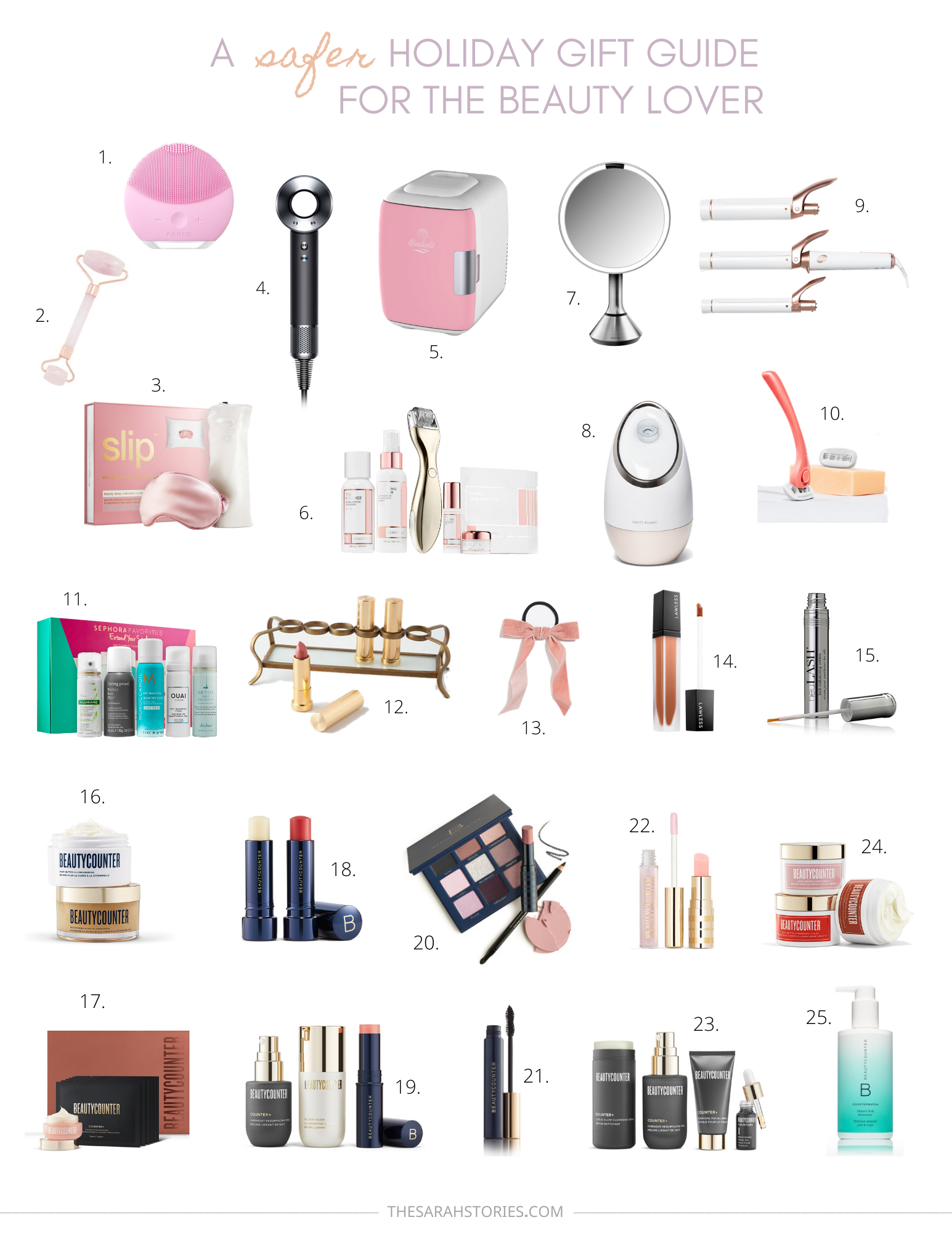 A safer Holiday gift guide for the Beauty lover