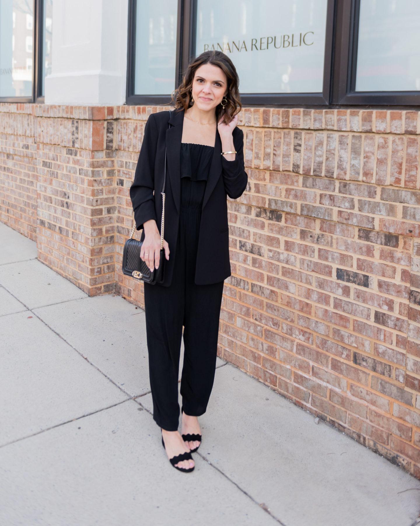 10 ways to style a black blazer