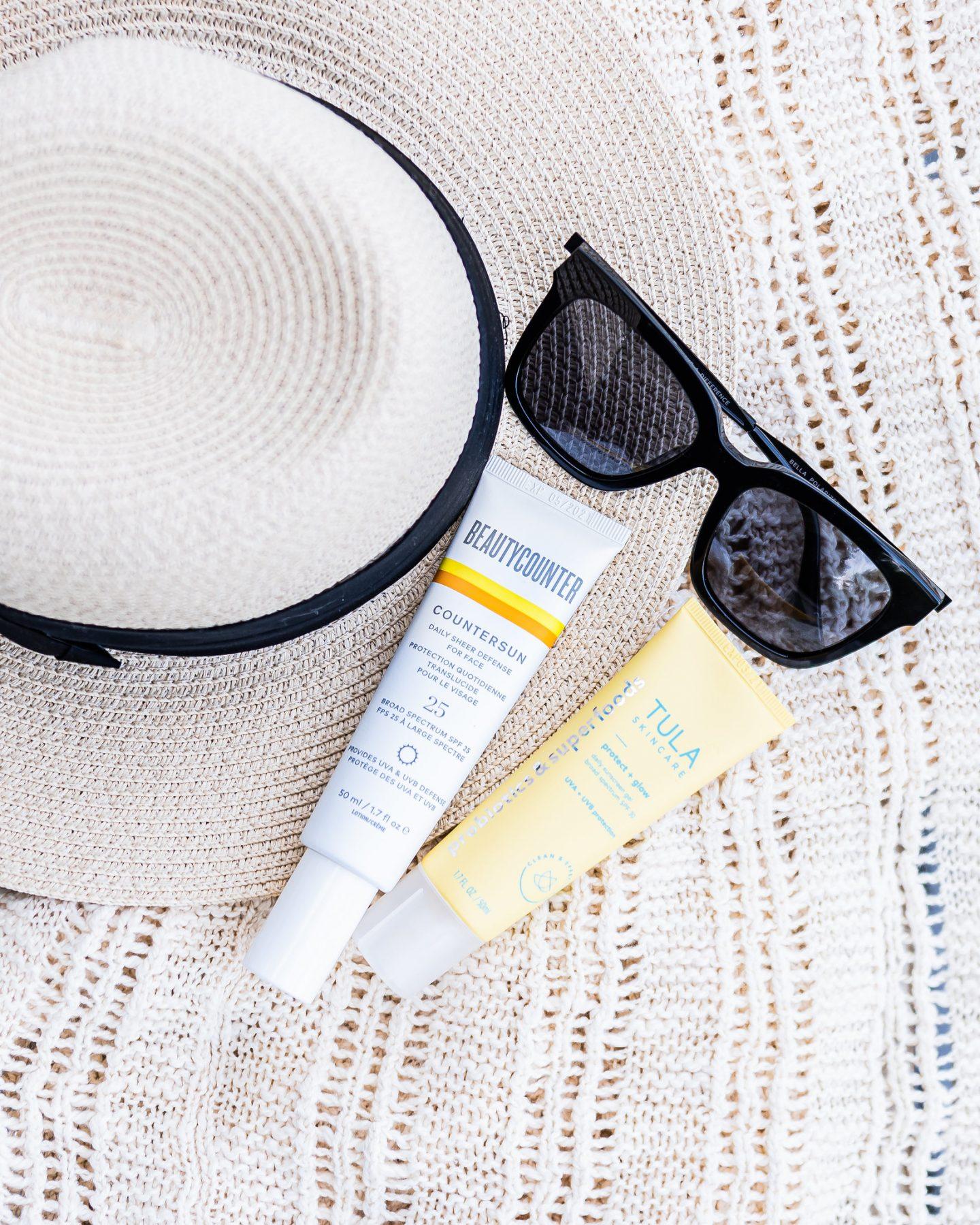Tula vs. Beautycounter facial Sunscreen comparison